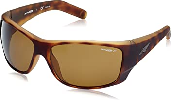 Arnette Mens Heist 2.0 0AN4215 Polarized Rectangular Sunglasses, FUZZY HAVANA, ...