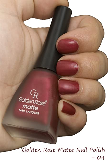 Amazon.com : Golden Rose Matte Nail Polish - 04 Jazzberry Jam : Beauty
