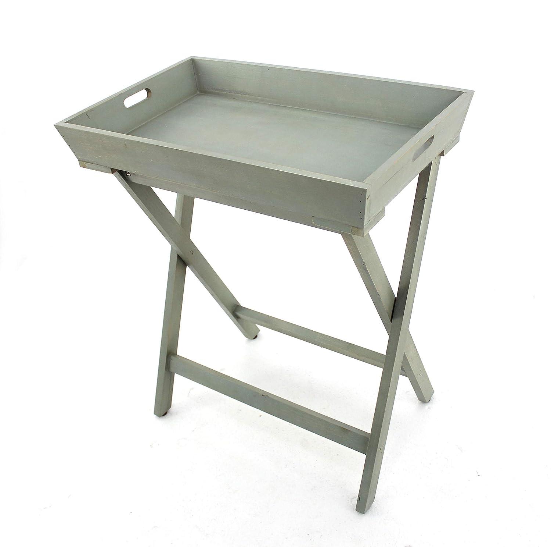 Teton Home AF-035 Wood Tray Table