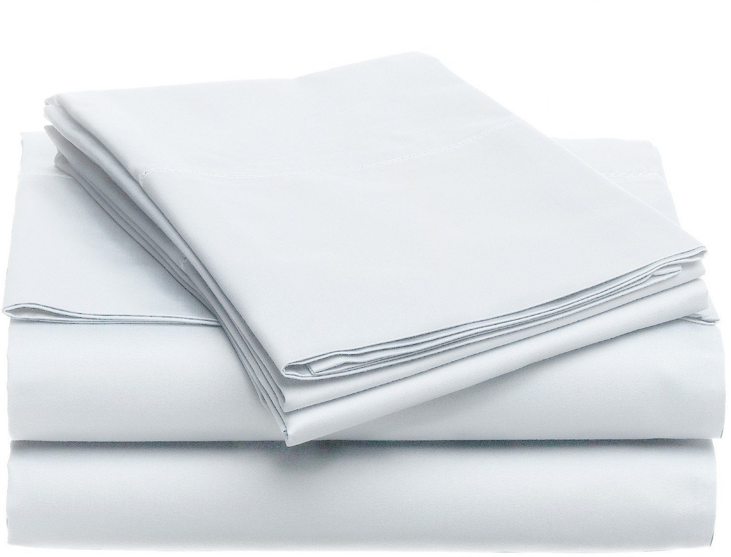 Luxury Home Super-Soft 1600 Series Double-Brushed 6 Pcs Bed Sheets Set (King, White) by Luxury Home (Image #2)