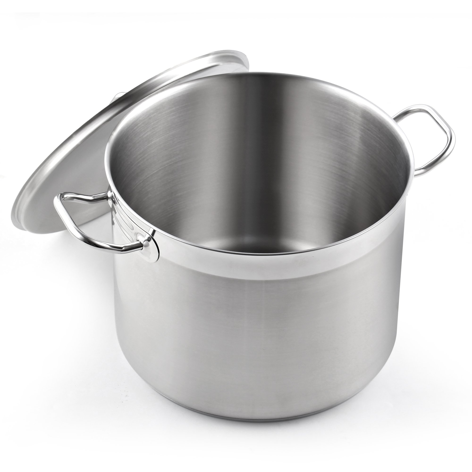 Cooks Standard NC-00330 Classic stockpot, 20 Quart, Stainless Steel by Cooks Standard