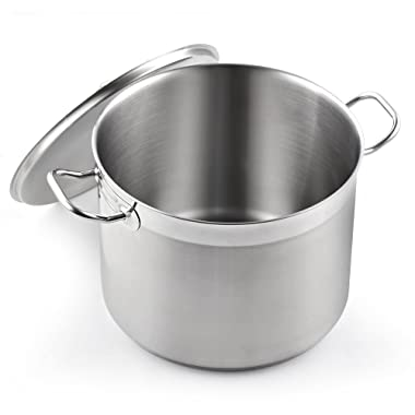 Cooks Standard NC-00330 Classic stockpot 20 Quart Stainless Steel