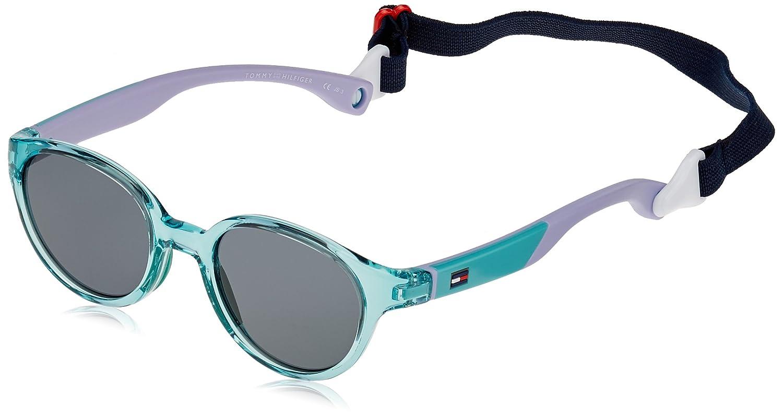 Tommy Hilfiger TH 1424/S BN, Gafas de Sol Unisex-Adulto, Green Lilac, 43