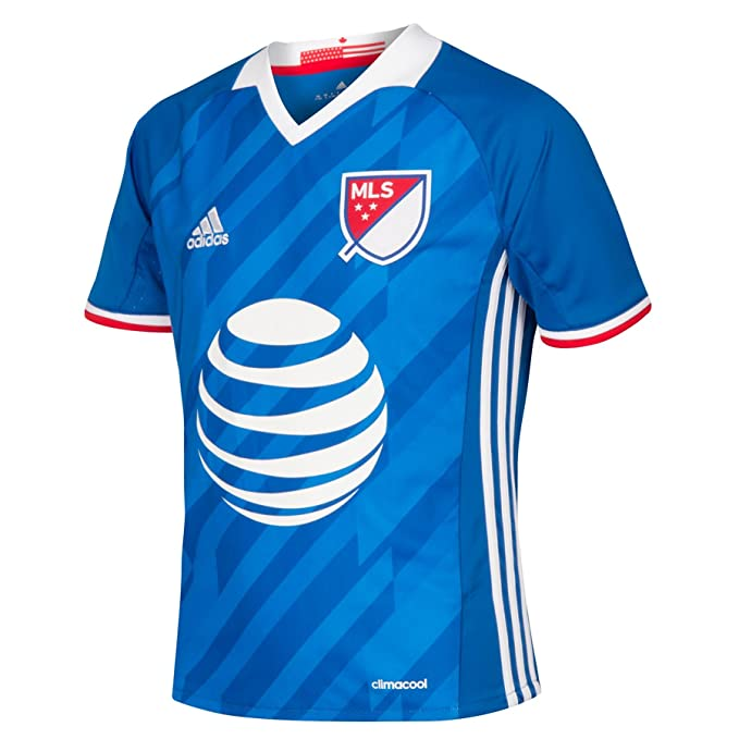 adidas Niños Fútbol MLS All Star Camiseta Jersey Top 2016 – 9 – 10 Años