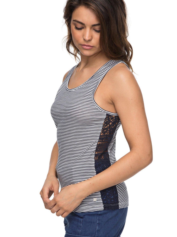 Roxy Aloha Sun Stripe Top Camiseta, Mujer Napali ERJKT03410