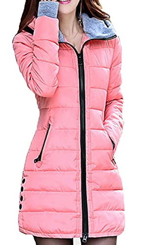Scothen Las señoras Autumn Winter Jacket Ladies Warm Winter Coat chaqueta de invierno con alta calid...