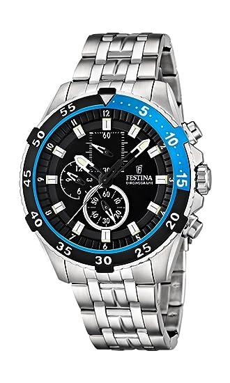 Festina F16603/3 - Reloj de Pulsera con cronógrafo para Hombre (Mecanismo de Cuarzo