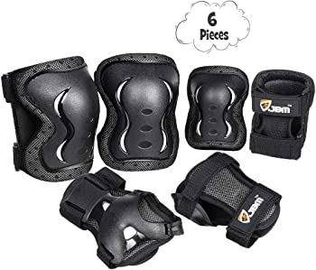 JBM Kids & Adults Skateboard Knee Pads