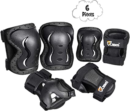 SEGRJ One Piece Adjustable Arm Protection Pads Elbow Brace Wrap Sleeve Guard Accessory for Bike Cycling//Hiking//Shooting//Basketball//Outdoor Sports//Gym Exercise Black