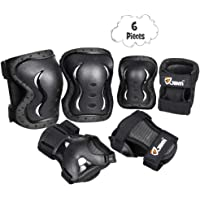JBM Kids & Adults Knee and Elbow Pads with Wrist Guards Protective Gear Set, Impact Resistance for your Children Outdoor…
