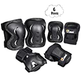 JBM Kids & Adults Knee and Elbow Pads with Wrist
