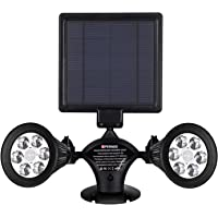 Amazon best sellers best outdoor deck lights solar lights motion sensor outdoor opernee upgraded double spotlights 12 led solar powered dual head aloadofball Choice Image