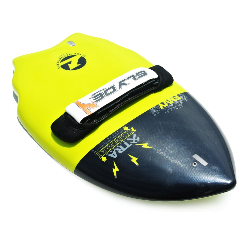 correa enchufe de sujeci/ón y ajustable correa Slyde cu/ña cuerpo Surfing handboard//Handplane con c/ámara integrada