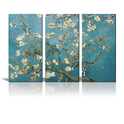 Amazon.com: Wall26 Canvas Print Wall Art - Almond Blossoms by ...
