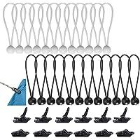 Bungee-koorden Bungee-ball-tarp Elastisch Schok-tarp-touw Ties-down-koord Bungees voor Spandoek, Dekzeilen, Paviljoens…