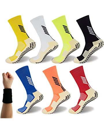 8763b30e0 Dee Plus Anti Slip Football Socks Non Slip Sports Socks Rubber Pads  Basketball Socks/Yoga