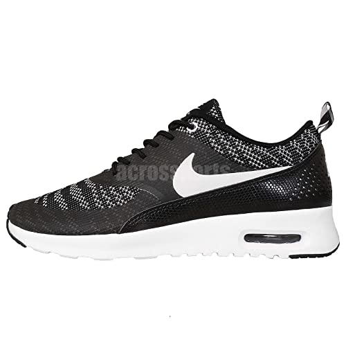 Nike Women's WMNS Air Max Thea KJCRD, BlackWhite, 6 M US