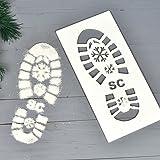 ORIGINAL MONKEY Plantilla de Papá Noel con diseño de Papá Noel, decoración de Plantillas para