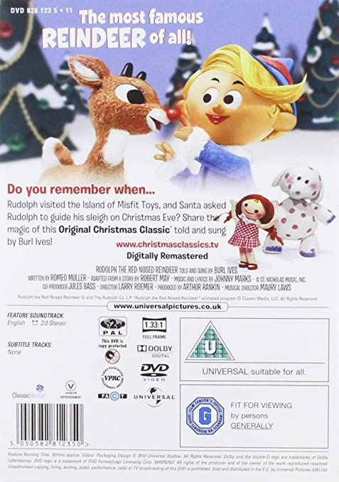 Rudolph The Red Nosed Reindeer [DVD]: Amazon.de: DVD & Blu-ray