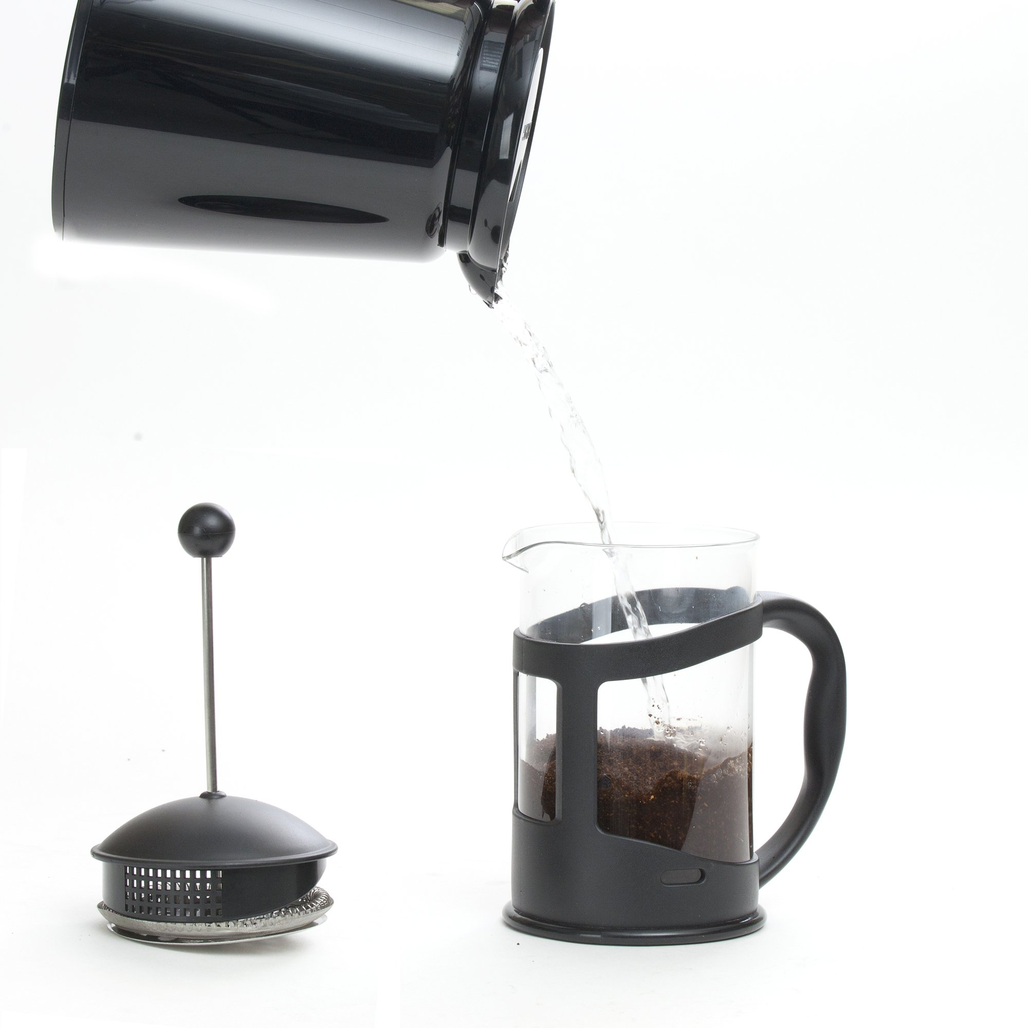 Mind Reader French Press Coffee & Tea Maker 27 oz, Glass by Mind Reader (Image #5)