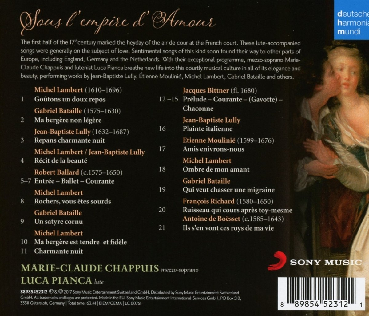 66f0ffd9e5d53 MARIE CLAUDE CHAPPUIS - Sous L Empire D Amour - Amazon.com Music