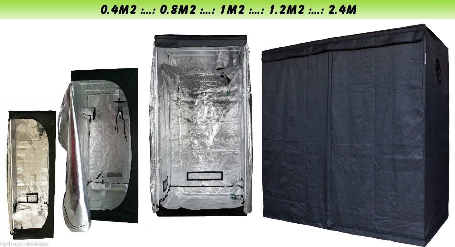 Swiftair Indoor Portable Grow Tent Green Room Silver Mylar Lined Hydroponics Carbon (40x40x140) hydroponics4less