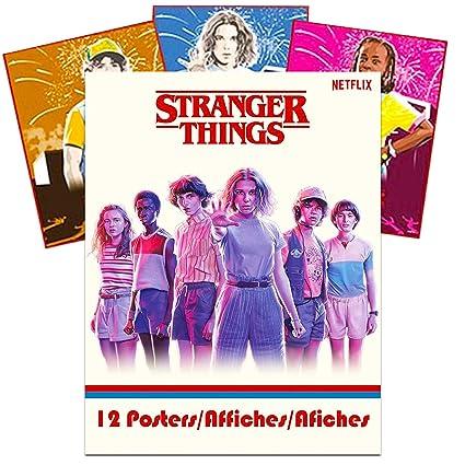 Amazon.com: Juego de 12 pósteres con texto en inglés ...