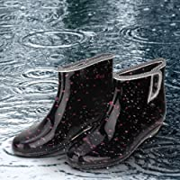 Anti-Slip Breathable Ankle Boots, Rain Boots, Waterproof Comfortable for Working in Garden Travel Women(40 Yards)