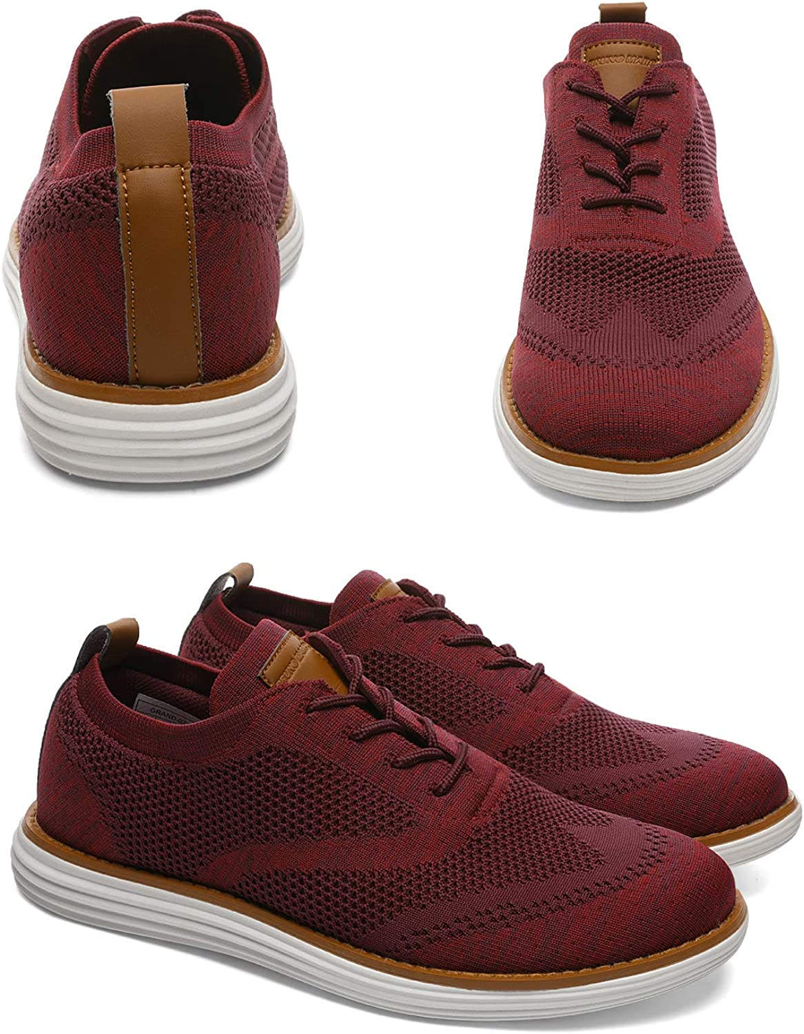 Bruno Marc Mens Mesh Sneakers Oxfords Lightweight Shoes