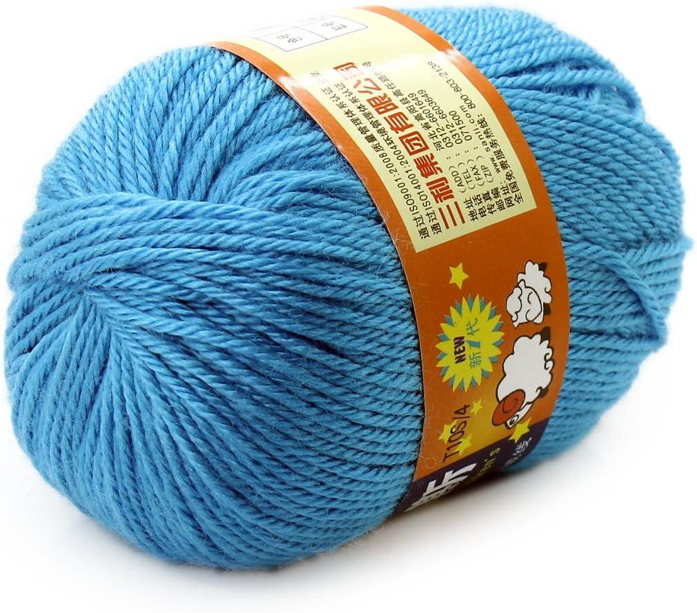 Baby hilo Manualidades peine 50 g Jersey lana de punto suave ...