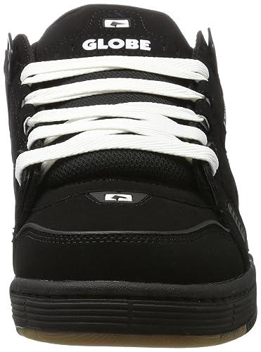 Tilt, Chaussures de Skateboard Homme, Multicolore (Grey/Black/Red), 41 EUGlobe