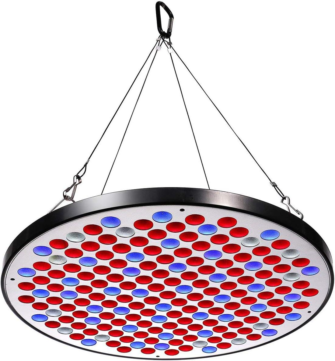Niello Panel de luz LED Grow Serie 50W, Diseño Ultrafino Espectro Completo con 177Pcs Big Chip Leds actualizados, para Plantas de Interior en Crecimiento y floración