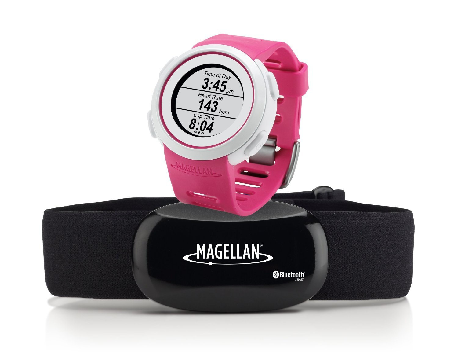 Magellan Echo Smart Sports Watch with Heart Rate Monitor-Bluetooth Smart (Pink)