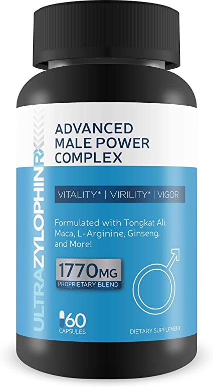 Amazon Com Ultra Zylophin Rx X Extra Strength Advanced Male