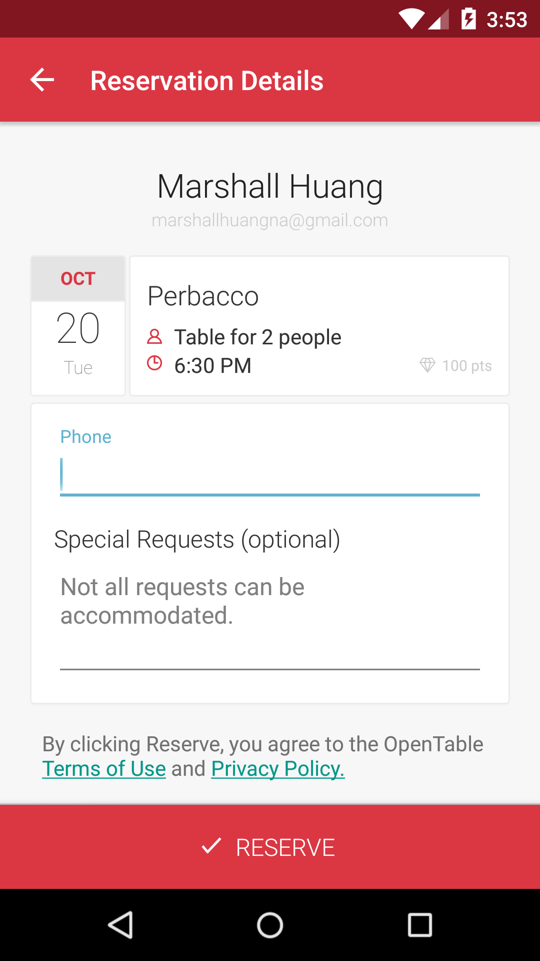 business plan for opentable an Several denver restaurants have dropped opentable, the online  the  effectiveness of opentable was always part of the business plan.