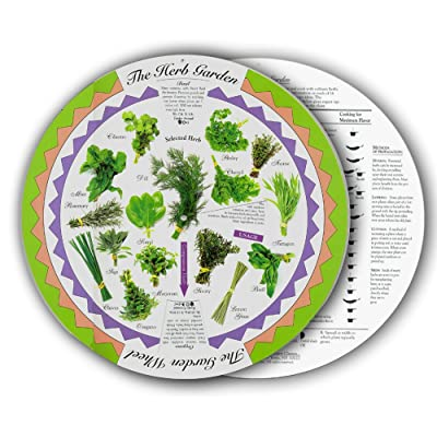 Womanswork 610hg Herb Garden Wheel : Outdoor And Patio Furniture : Garden & Outdoor