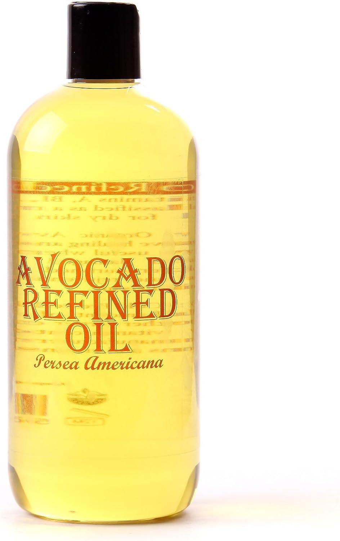 Mystic Moments - Aceite de aguacate refinado (500 ml, 100% puro)