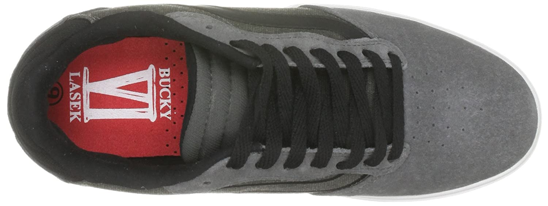 2fbdc12ed4 Vans Men s Bucky 6 Pewter White Trainer Vl3H1N6 6 UK  Amazon.co.uk  Shoes    Bags