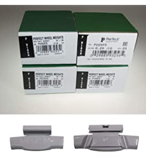 Quality 200-Pcs MC Style Wheel Weight Assortment 0.25-2.00 Ounce PLASTEEL