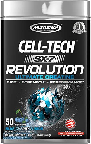MuscleTech Cell-Tech SX-7 Revolution – Blue Cherry Fusion