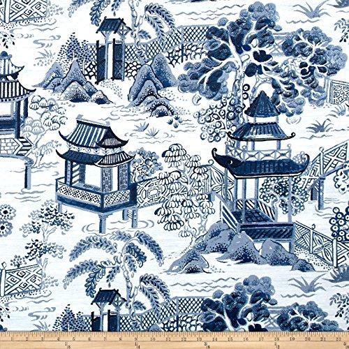 (Covington Fabrics & Design Covington Osaka Toile Jacquard Wedgewood)