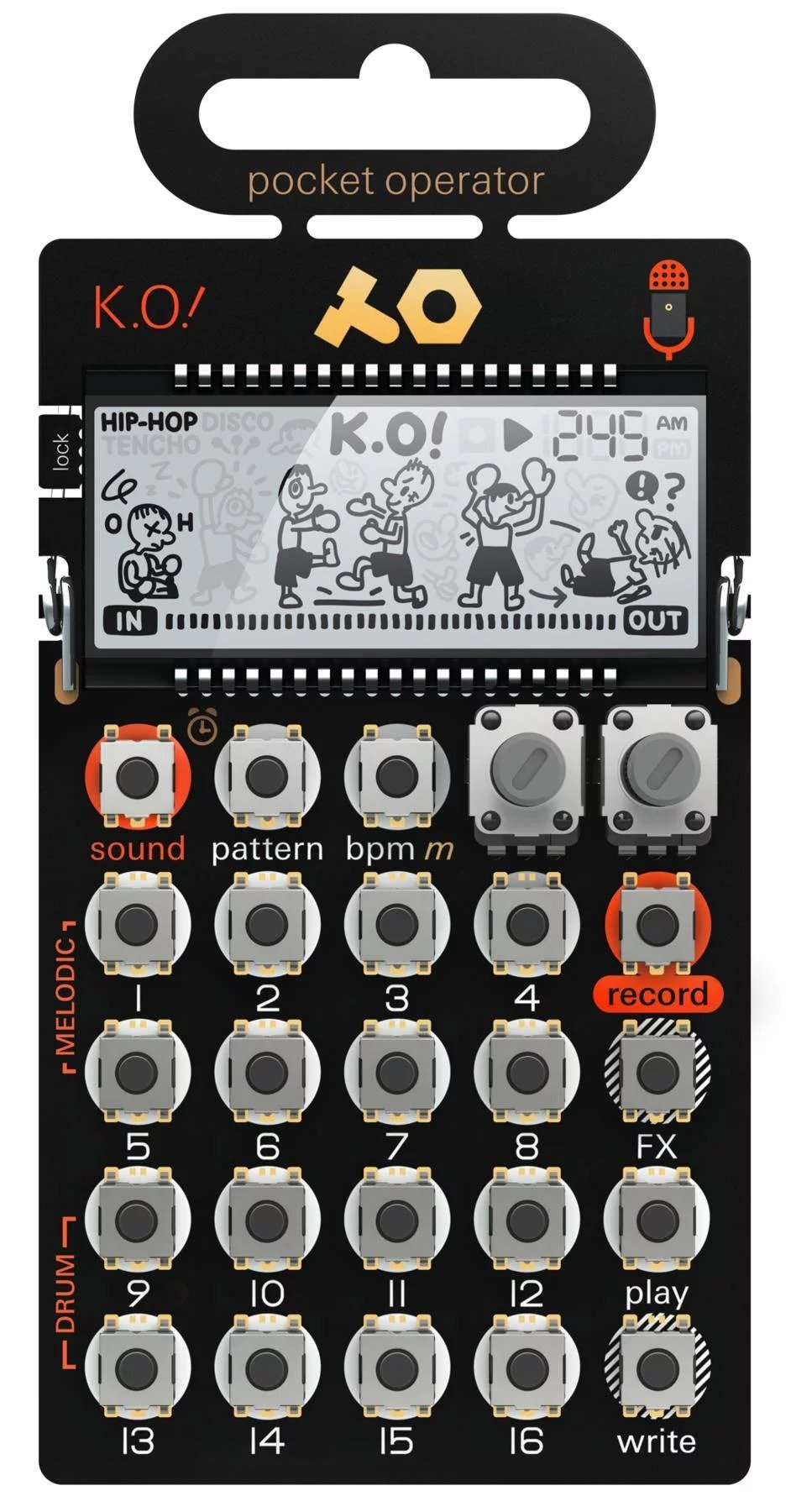Teenage Engineering Pocket Operator PO-33 KO by Teenage Engineering