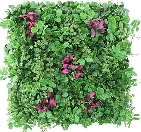 YNFNGXU Decoración De La Pared Exterior, Jardín, Cerco, Privacidad, Verde, Jardín, Exterior, (Dos Colores): Amazon.es: Hogar