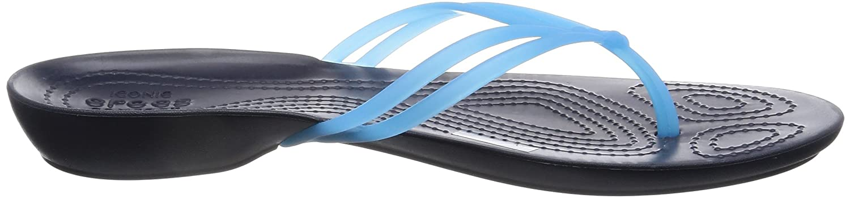 Crocs - Damen Isabella Flip Electric Electric Flip Blau/Navy 09d9ca