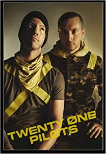 CAOHD Poster Prints Twenty One Pilots Rock Music Band Trench Stars Wall Art Modern Painting Wall Pictures for Living Room Home Decor-50x70cm No Frame