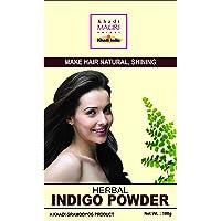 Khadi Mauri Herbal Indigo Powder - Hair & Beard Dye (BLACK) - 100 g