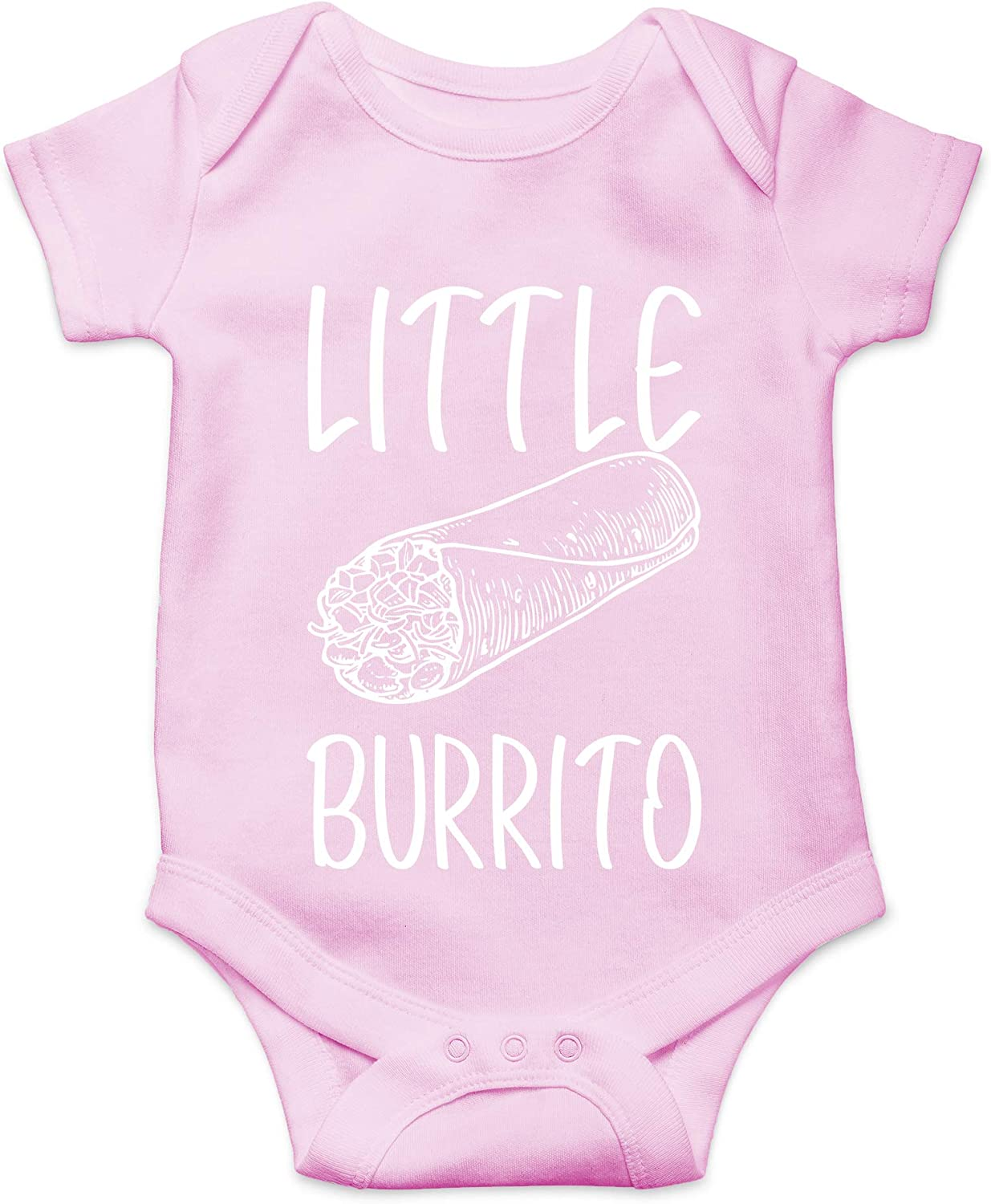 CBTwear Little Burrito - Funny Food Lover Gift - Cute Infant One-Piece Baby Bodysuit