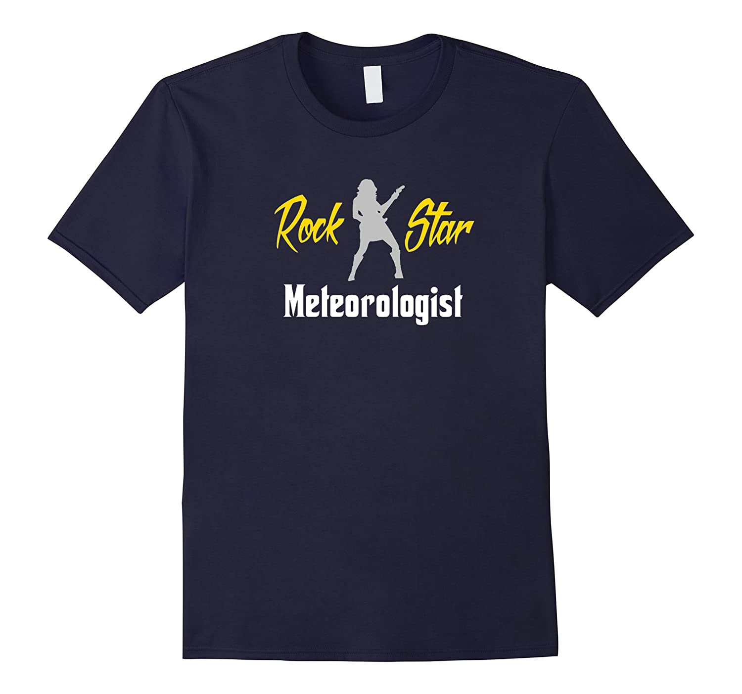 This Girl Is A Rock Star Meteorologist T-Shirt-TJ