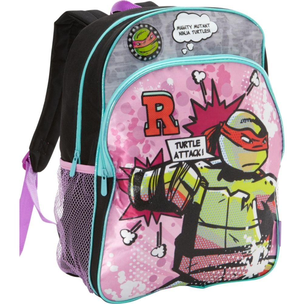 Nickelodeon Teenage Mutant Ninja Turtles Girls Backpack (Pink)