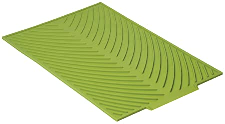 Now Designs Silicone Glass Drying Mat Cactus.Now Designs Silicone Glass Drying Mat Cactus Green Green